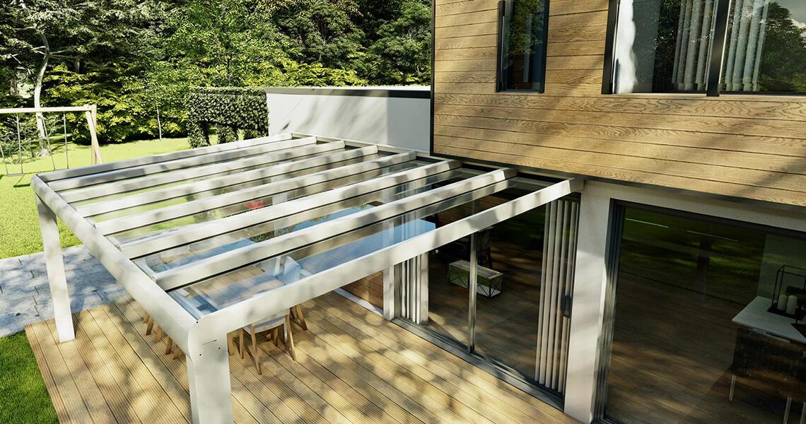 Al een mooie terrasoverkapping? Maak er een tuinkamer van!