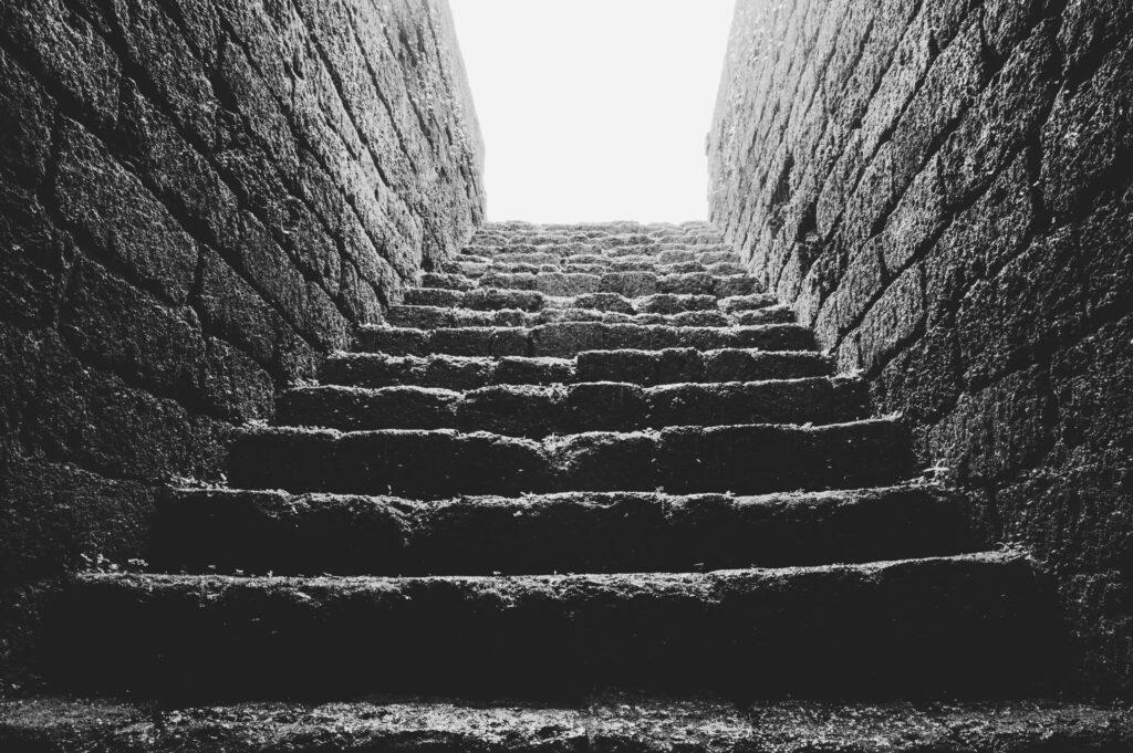 baksteen trap