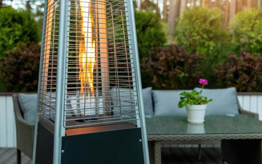 elektrische heater overkapping